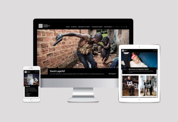 SFF - Svenska fotografers förbund webbplats