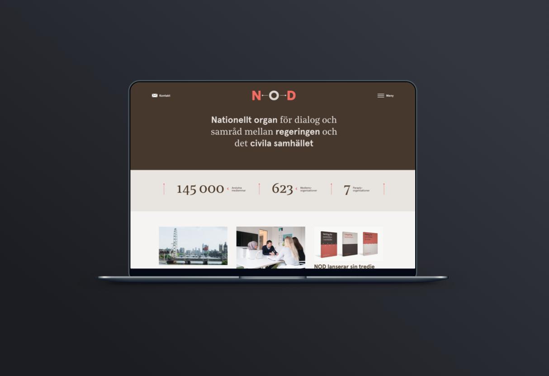 Nod sveriges webbplats